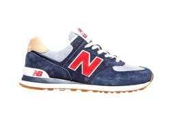 Granatowe   New Balance ML574PTR