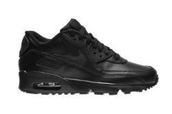 "Nike Air Max 90 Leather (GS) ""All Black"" (833412-001)"