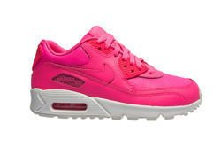 "Nike Air Max 90 Leather (GS) ""Pink Pow"" (724852-600)"