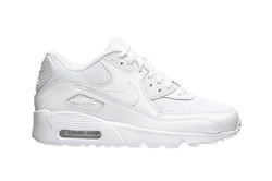 "Nike Air Max 90 Mesh (GS) ""All White""  (833418-100)"