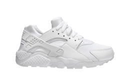 "Nike Huarache Run (GS) ""All White"" (654275-110)"