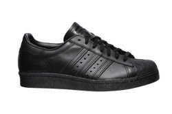 "adidas Superstar 80s ""All Black"" (S79442)"