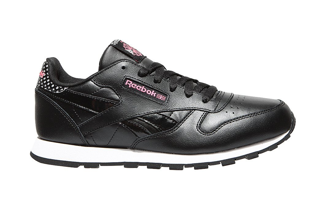 9790b2b4 ... Młodzieżowe sneakersy reebok Classic Leather Girl Squad Pack - CM9136  ...