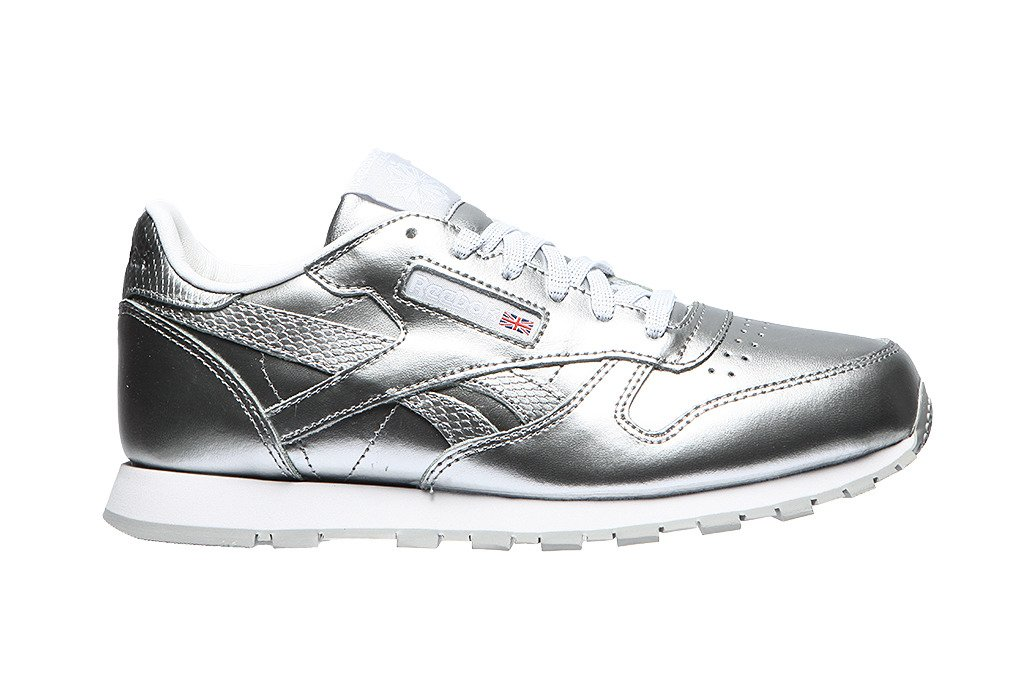 db1db9fc Młodzieżowe sneakersy reebok Classic Leather Metalic (BS8945) BS8945 ...