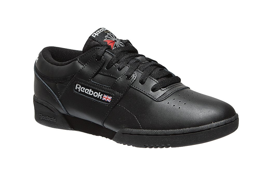 reebok workout low black