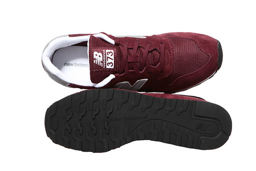 Bordowe New Balance ML373GR