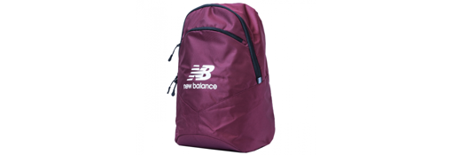 Bordowy  Plecak New  Balance Team  Backpack  NTBBAPK8BG