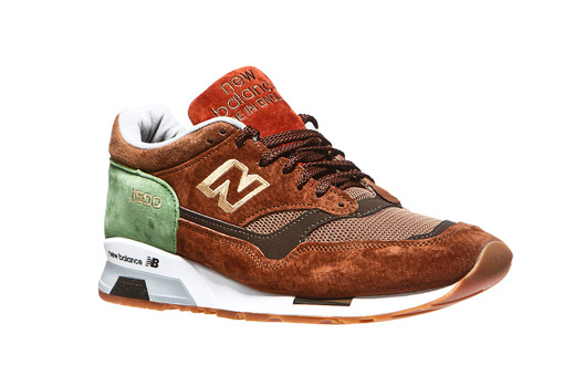 Brązowe  New Balance M1500LN Made in The UK