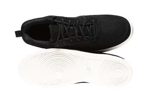 "Buty męskie Nike Court Borough Low Premium ""all black"" (844881-007)"