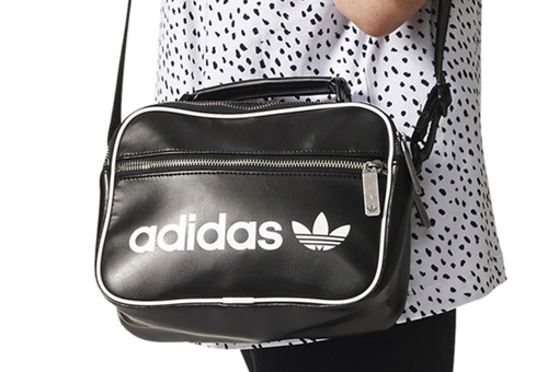 Czarna Torba adidas Originals Mini Vintage Airliner DH1004
