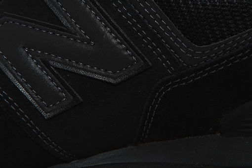 Czarne  New Balance ML574ETE Triple Black