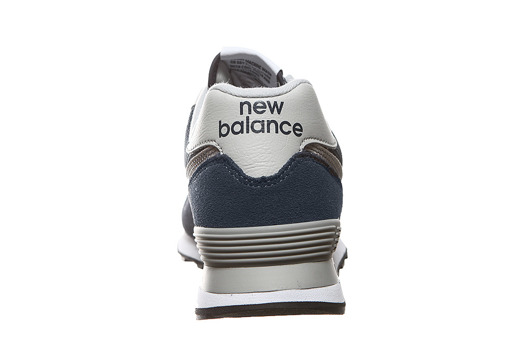 Granatowe  sneakersy New Balance ML574EGN