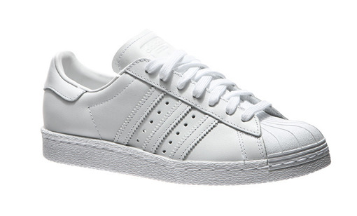 "adidas Superstar 80s ""All White"" (S79443)"