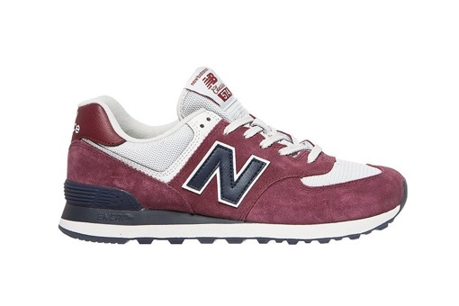 bordowe New Balance 574ESW